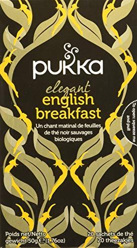 Pukka Elegant English Breakfast Tea, 20 Filtri