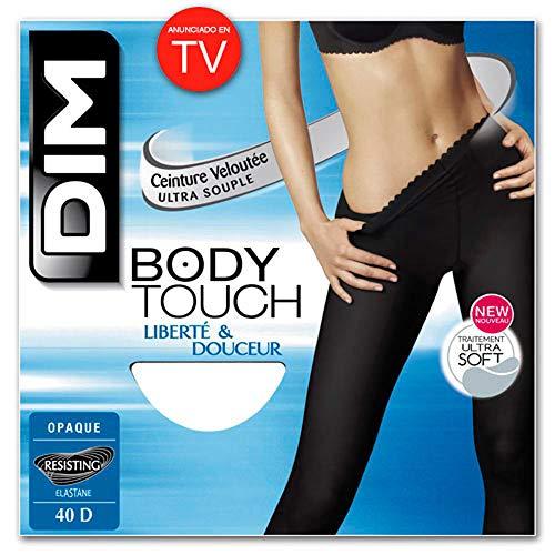 DIM Body Touch Panty Medias, opaco, Noir, 2 para Mujer