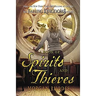 A Book of Spirits and Thieves audiobook cover art
