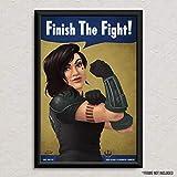 Cara Dune - Star Wars - We Can Do It - Original Art Poster Print