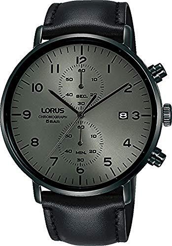 Lorus Reloj Analógico para Hombre de Cuarzo con Correa en Piel RW405AX9