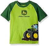 John Deere Boys' Toddler T-Shirt, Lime Green Green, 4T