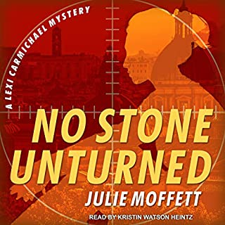 No Stone Unturned     A Lexi Carmichael Mystery, Book 11              By:                                                                                                                                 Julie Moffett                               Narrated by:                                                                                                                                 Kristin Watson Heintz                      Length: 14 hrs and 52 mins     71 ratings     Overall 4.5