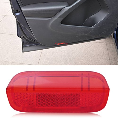 beler Panneau de Porte Rouge réflecteur à lentille Lumineuse pour VW Passat Jetta Golf 1KD 947 419
