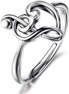 BGTY 925 Sterling Silver Lady Girl Women Fashion Ring