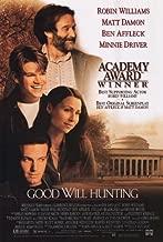 (27x40) Good Will Hunting Robin Williams Matt Damon Ben Affleck Minnie Driver Original Poster Print