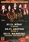 Opeth - Heritage, Hamburg 2012 » Konzertplakat/Premium