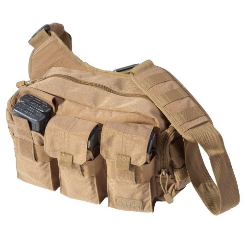 5.11 Tactical Bail Out Bag Sac Bandoulière, 30 cm, 9 L, Flat Dark Earth
