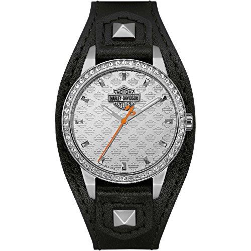 orologio solo tempo donna Harley Davidson sportivo cod. 76L183