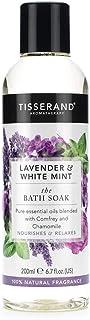 Tisserand Lavender and White Mint Bath Soak, 200 ml