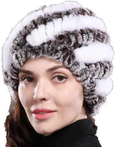 OG-Renstky Women Natural Product Rex Rabbit Fu Fur Hat Winter Regular store