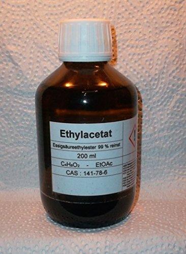 200ml ethylac bilancio,  99% acetato di etile, per cromatografia, solvente