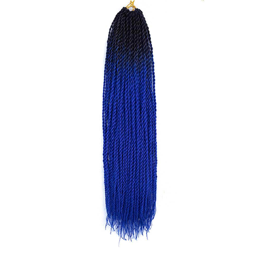 Max 71% OFF 24 Inch Ombre Twist Hair 55% OFF Crochet Synthetic Braids 20 Roots Pack