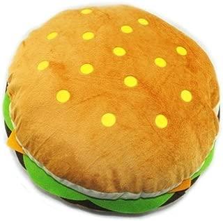 Cute Hamburger Soft Stuffed Pillow Round Throw Plush Toy 15