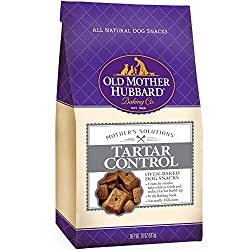 natural dog dental snack by Old mother hubbard dog treats for tartar control