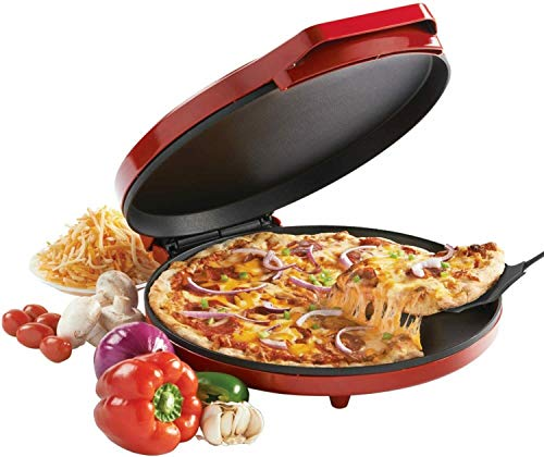 Pizza Maker 1440 Watts Red Fast Fun Energy Efficient - Bc-2958cr   Robbies Warehouse