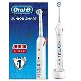 Oral-B Junior Smart Elektrische Zahnbürste mit visueller Andruckkontrolle & Smart