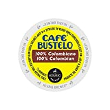 Caf Bustelo 100 % Colombian Coffee K-Cups for Keurig Brewers, 24 Count