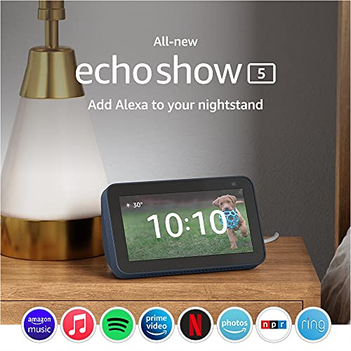 All-new Echo Show 5 (2nd Gen, 2021 release)   Smart display with...
