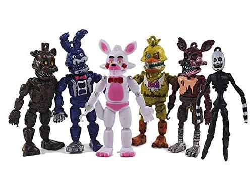 BESTZY 6pcs Five Nights at Freddy's, Five Nights At Freddy M
