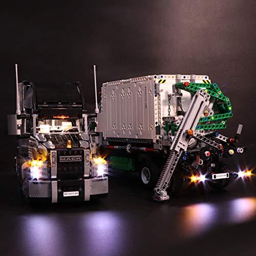 POXL Licht-Set Für Mack Anthem - LED Licht Set Led Beleuchtungsset Für Lego 42078 - NUR Licht Set