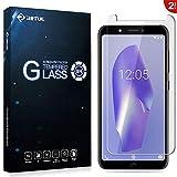 RIFFUE BQ Aquaris C/VSMART Joy 1 Protector de Pantalla, Cristal Vidrio Templado Glass Premium, 9H Dureza, 3D Touch, Alta Definicion, 0.26mm Screen Protector [2 Unidades]