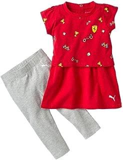 Scuderia Ferrari Girls Dress Set