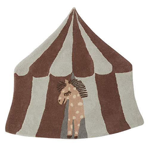 OYOY - Teppich - Zirkuspferd Pippa - beige/braun - 90 x 100 cm