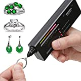 Professional Diamond Selector II, Gem Tester Pen Portable Electronic Diamond Tester Tool for Jewelry Jade Ruby...
