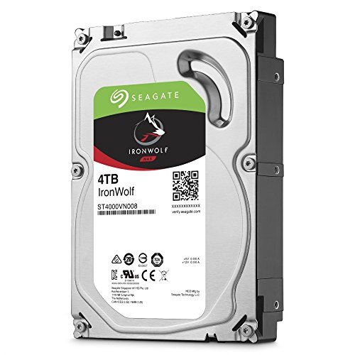 Seagate IronWolf NAS HDD ST4000VN008 - 4TB 5900rpm 3,5 Zoll SATA 6 Gbit/s CMR