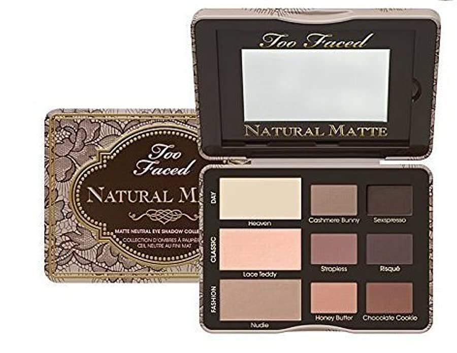 冷凍庫月スカートToo Faced Natural Matte Matte Neutral Eye Shadow Collection (並行輸入品) [並行輸入品]