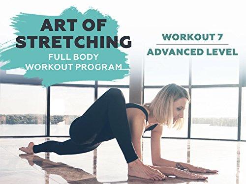 Workout 7 Advanced level - Art of stretching - Full body workout program.