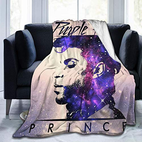 TILLIEE P-ri e-P-ur-p-le Ultra-Soft Micro Fleece Blanket 50 x40