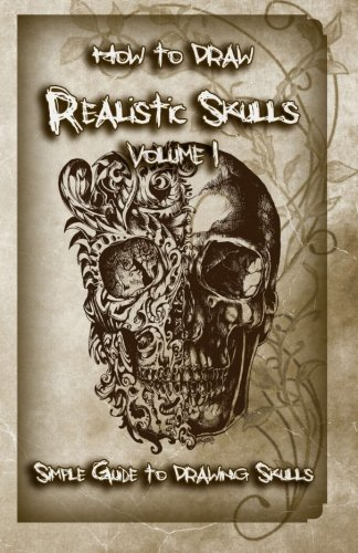 how to draw skulls book - 3