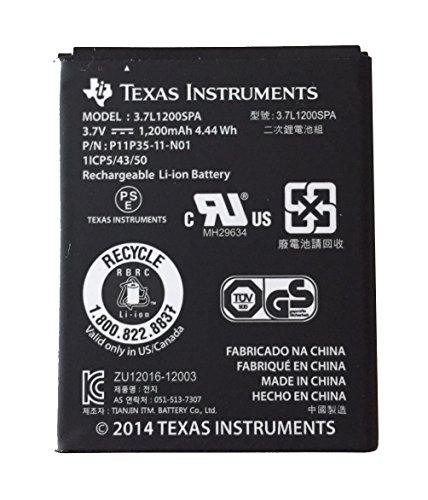 Texas Instruments Batteria di ricambio per TI-Nspire CX, TI-Nspire CAS e TI-84 Plus CE-T