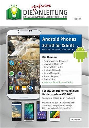 Die.Anleitung für Android Smartphones - Speziell für Einsteiger und Senioren by Helmut Oestreich (2015-07-13)
