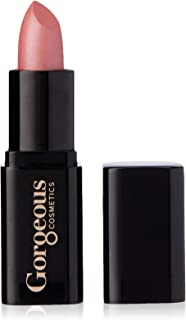 Gorgeous Cosmetics Pearl Finish Lipstick with Vitamin E, Cotton Candy, 4g