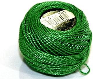 DMC Cotton Perle Thread Size 5 701 - per 10 gram ball