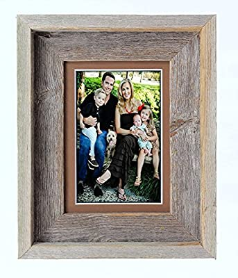 BarnwoodUSA Signature Picture Frame With Mat