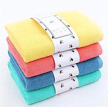 4-Piece KYX Rainbow Cotton Bath Towel Set
