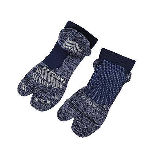 [Tabio]タビオ ゴルフ 足袋パイルショートソックス 25.0〜27.0cm 日本製 ゴルフ靴下 コン