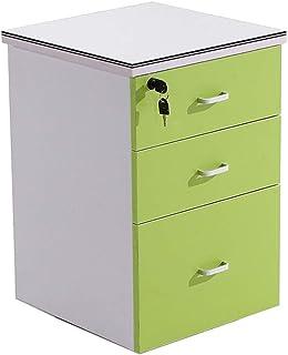 Cabinet d'activité de stockage de fichiers de bureau trois armoire de verrouillage de Cabinet d'information en bois de ser...