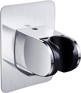 Goleng Shower Head Holder, Adhesive Handheld Shower Holder NO Drilling Wall Mount Bracket, Bathroom Installation & Mountin...