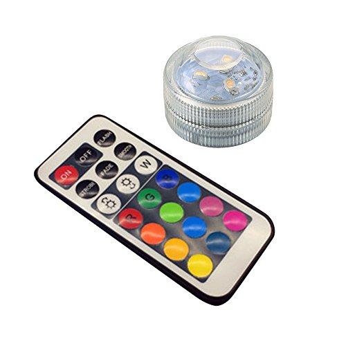 VESSOS Home Multi-Color Change Color Aquarium Waterproof Lamp LED Candle Light Decor Holiday Best Display