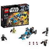 LEGO- Star Wars Battle Pack Speeder Bike del Bounty Hunter Costruzioni Piccole Gioco, Multicolore, 75167
