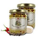 Queso Tomino en Aceite de Girasol Aromatizado | 180 Gramos (Paquete de 2 Piezas)