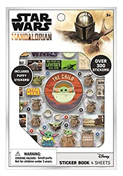 Baby Yoda Star Wars The Mandalorian Sticker Book Pack - Over 300 Stickers