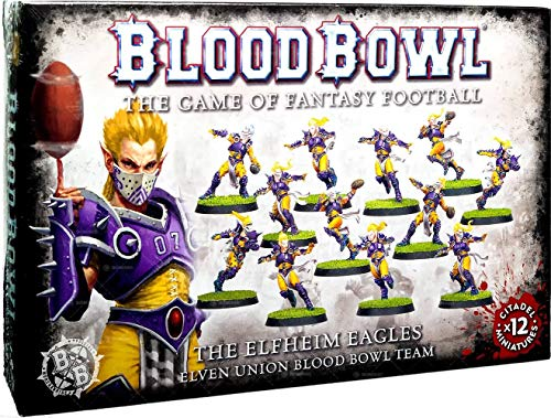 Games Workshop 99120999003 The Elfheim Eagles Blood Bowl Team Miniatur