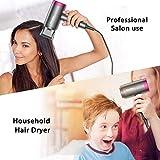 Newdora Föhn, Professioneller Haartrockner 1800W, Salon-Haarföhn Schnelltrocknen Reisefön mit 1 Diffusor & 1 Konzentrator, Ionen-Haartrockner Fön für Zuhause oder unterwegs - 6