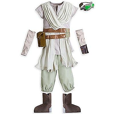 Disney Store Girls Star Wars The Force Awakens Rey Costume